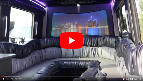 Limo Service Brownstown MI - Party Bus Rentals, Wedding Limousines - image-home-video
